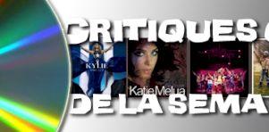 Critiques CD de la semaine: Kylie Minogue, Katie Melua, Wolf Parade et Les Belles-soeurs