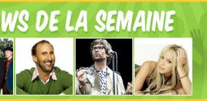 Critiques concerts de la semaine: Shakira, Jamie Lidell, Cake et Martin Petit