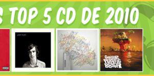 Top 5 Album 2010: Nos collaborateurs se prononcent