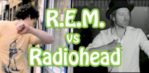 R.E.M. vs Radiohead : Votez pour votre danse épileptique préférée!