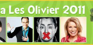 Gala Les Olivier 2011: Nos prédictions et les gagnants!