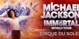 Michael Jackson – Cirque du Soleil à Québec: The Immortal World Tour au Colisée Pepsi en mars 2012