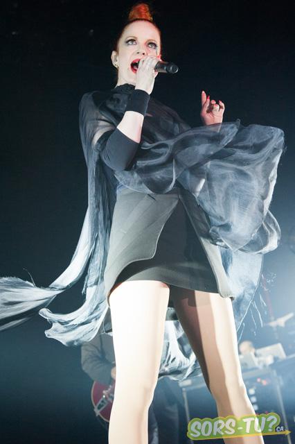 Shirley Manson dans toute sa splendeur. Photo par David Kirouac.
