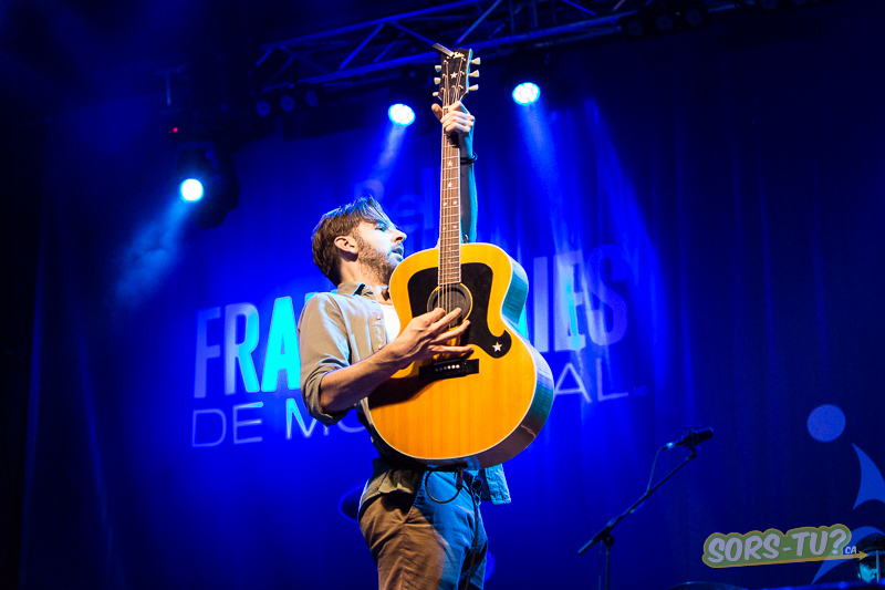 Jason Bajada aux Francos 2013.