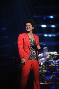 Bruno Mars à Philadelphie, photo par Brad Barket