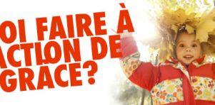 Quoi faire à Montréal et Québec en ce weekend d'Action de grâce 2014 ?