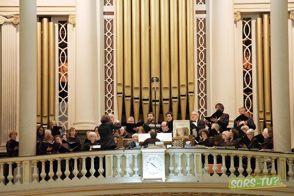 Polyphonie, Délices et orgue à la Cathédrale Marie-Reine-du-Monde. Photo par Richard Mercier.