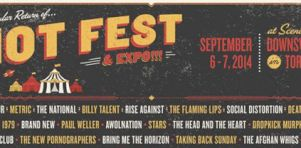Riot Fest 2014 | The National, The Flaming Lips, City and Colour, Metric, Death Cab for Cutie et plus