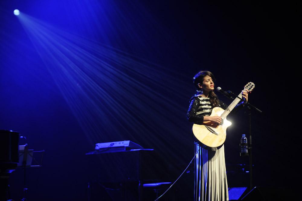 Katie Melua, photo par Victor Diaz Lamich.
