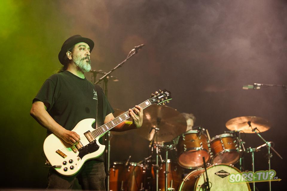 Le guitariste Kim Thayil. Photo par Pierre Bourgault.