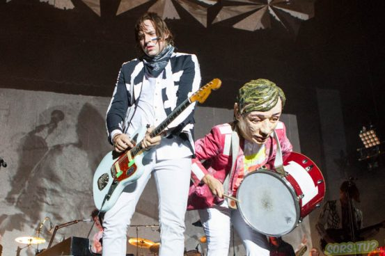 Arcade Fire, photo par Karine Jacques