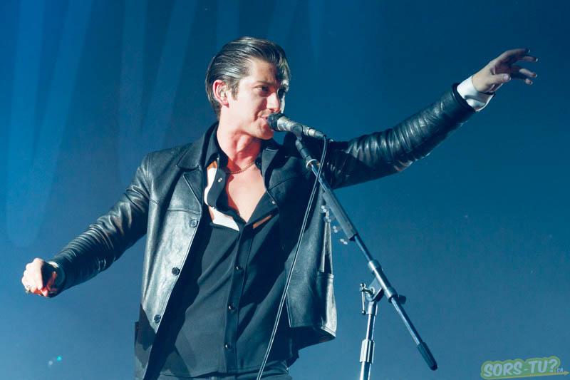 Arctic Monkeys, photo par Karine Jacques
