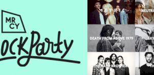 MRCY – Le Block Party   Metric, Death From Above 1979, Neutral Milk Hotel et Sky Ferreira à Laval en septembre 2014