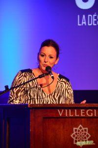 Roxanne Genest, directrice artistique et générale de Diffusion Momentum. Photo par Marc-André Mongrain.