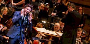 En photos | Mika avec l'OSM à la Maison symphonique