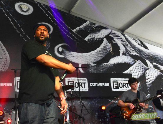 Ghostface Killah et Badbadnotgood à SXSW 2015. Photo par M-A Mongrain.