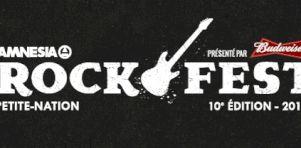 Amnesia Rockfest de Montebello 2015 | L'horaire par jour est dévoilé