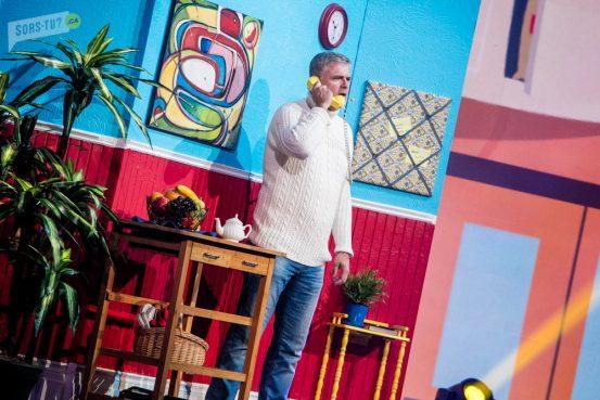 Dominic Paquet en Gars qui magasine