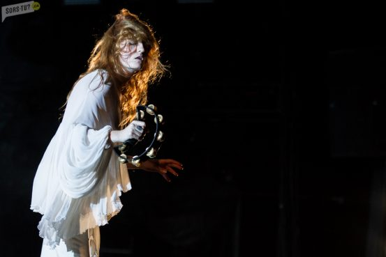 Florence & the Machine, photo par Karine Jacques