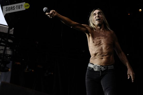 Iggy Pop, photo par Renaud Sakelaris