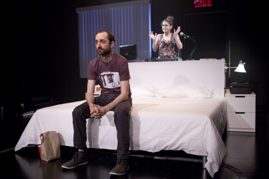 Sarah Laurendeau et <a href='/artiste/jean-philippe-lehoux/' >Jean-PhilippeLehoux</a> Crédit : David Ospina