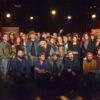 Les artistes de CCF présents à la conférence de presse.