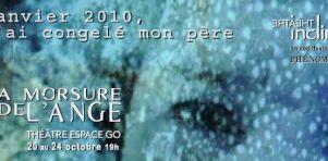 La Morsure de l'Ange à l'Espace Go du 20 au 24 octobre 2015