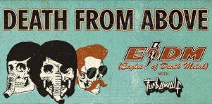 Eagles of Death Metal et Death From Above 1979 à Montréal et Québec en mai 2016