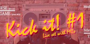 Kick It! #1 au TRH Bar | Soirée funk/hip-hop avec Of Course et L'Amalgame