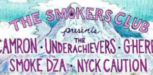 The Smokers Club de passage à Montréal en juillet 2016 | Cam'ron, G Herbo, Smoke DZA et plus au Petit Olympia