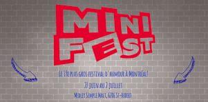 Minifest 2016 | Un nouveau festival d'humour pour la relève