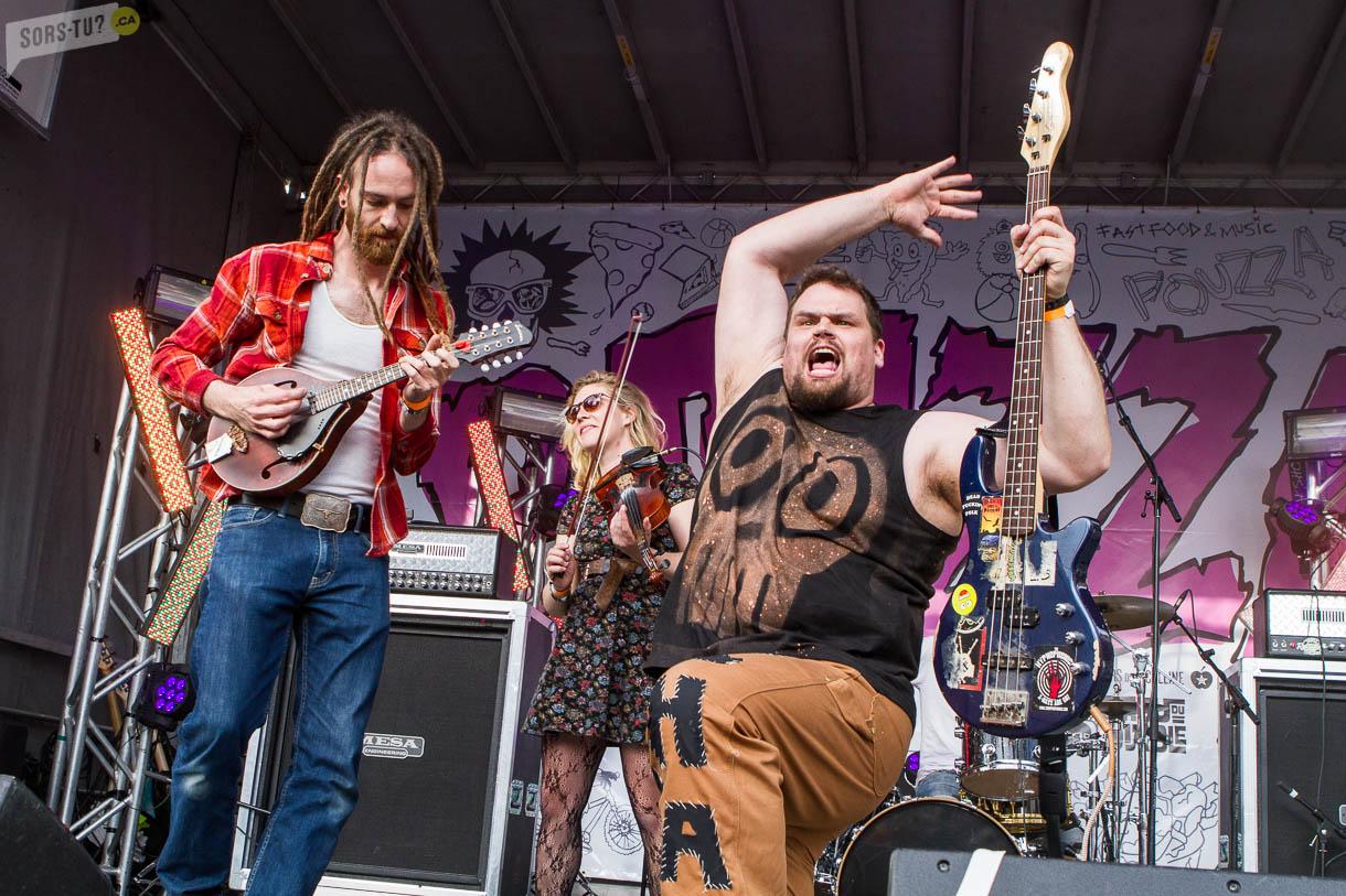 The Dreadnoughts au Pouzza Fest 2016.