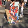Art sur la rue Bedford.