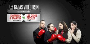Gala Juste pour rire 2016 | Dominic & Martin vs Les Denis Drolet : Parfait équilibre entre rationnels et f**ckés