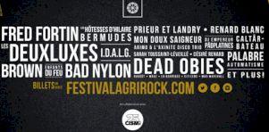 Agrirock 2016 | Fred Fortin, Dead Obies et Les Deuxluxes à la programmation