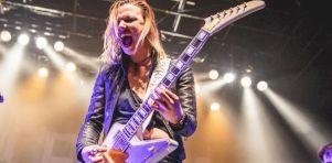 Halestorm (avec Lita Ford) au Métropolis   Un vrai bon show rock !