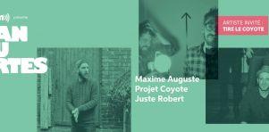 Francouvertes 2017 – Jour 2 | Maxime Auguste, Projet Coyote et Juste Robert impressionnent