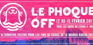 Phoque OFF | Une alternative échevelée aux fins de soirée de la Bourse RIDEAU