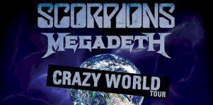 Scorpions et Megadeth à la Place Bell de Laval en septembre 2017