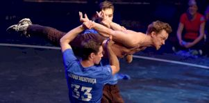Finale de L'Impro-Cirque à la Tohu | Rires et acrobaties au rendez-vous