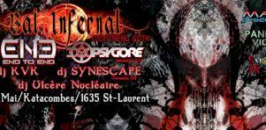 3e Bal Infernal de Montreal Goth | Festivités funèbres aux Katacombes ce vendredi