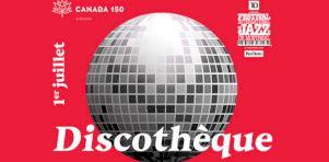 Discothèque au Festival de Jazz de Montréal | Une gigantesque piste de danse à ciel ouvert!