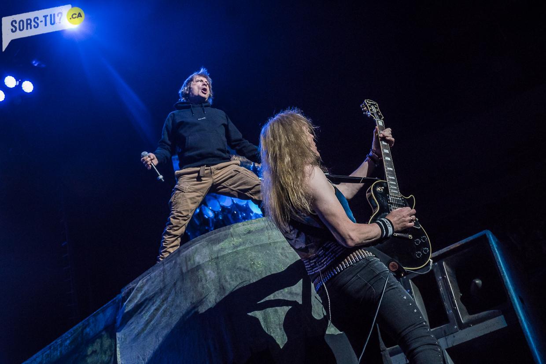Iron Maiden Centre Videotron 7-16-17-15