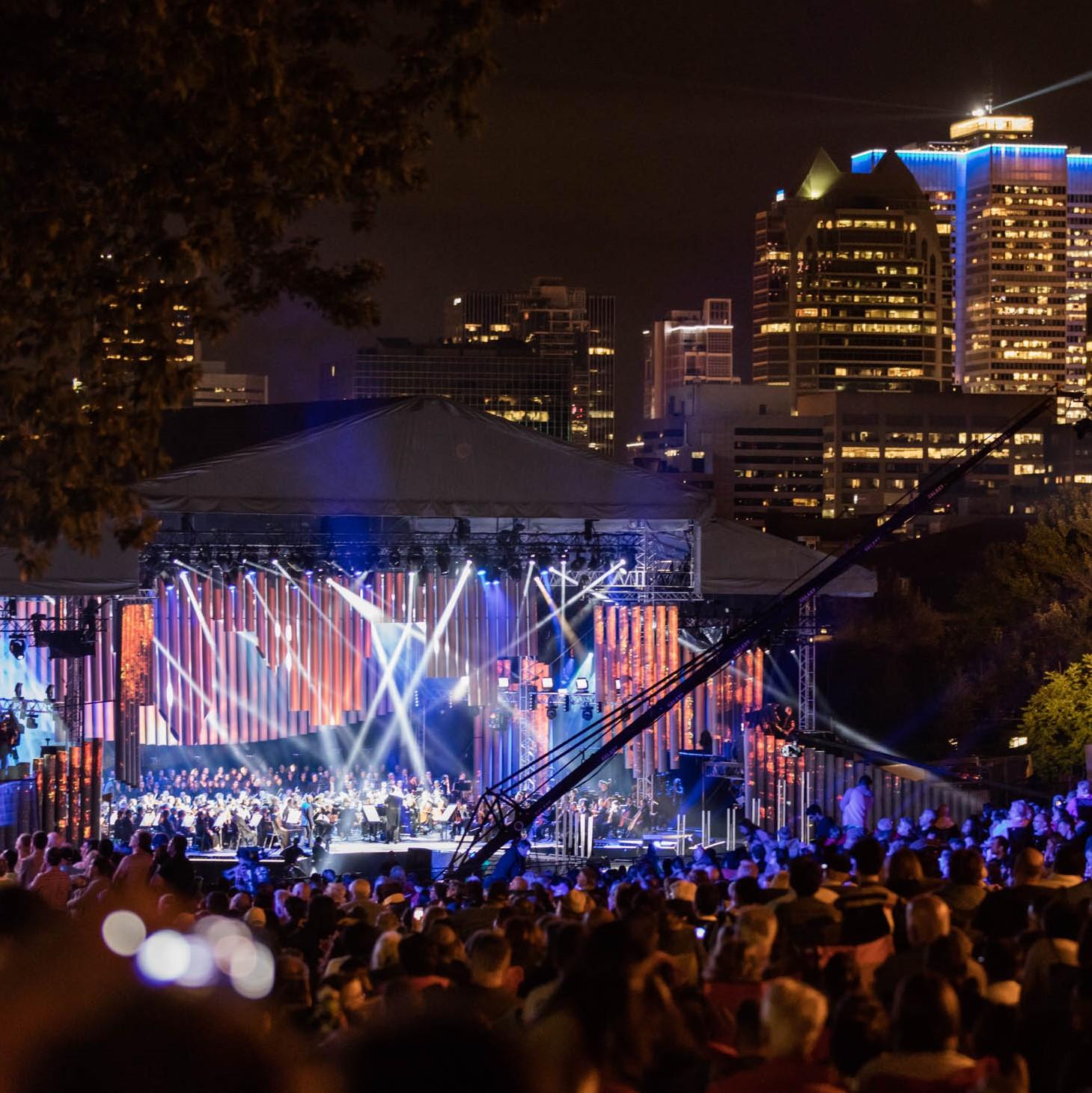 Montréal Symphonique sur les flancs du Mont-Royal : Grandiose!