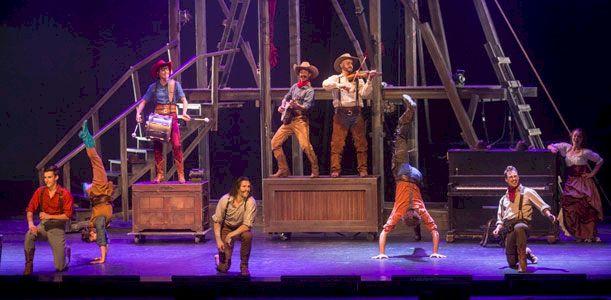 Cirque Éloize - Saloon
