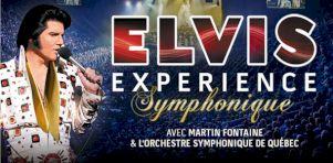 Elvis Experience Symphonique à la Place Bell de Laval en février 2018