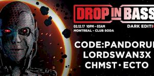 Drop in Bass au Club Soda | Brochette dubstep inoubliable