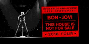 Bon Jovi à Montréal en avril 2018