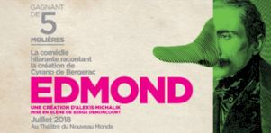 Festival Juste pour rire 2018   La distribution d'Edmond, comédie théâtrale mise en scène par Serge Denoncourt