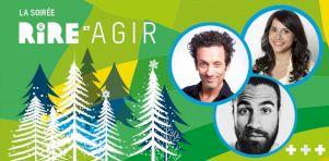 La Soirée Rire et Agir 2018 (présentée par OXFAM-Québec) | Changer le monde un rire à la fois